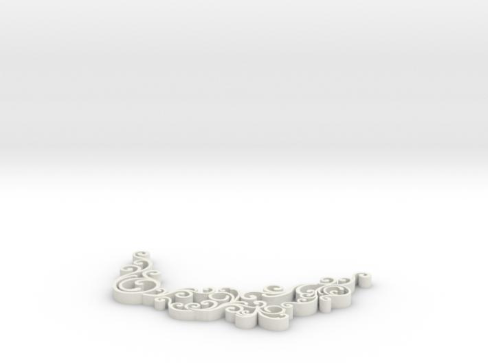 Swirl Pendant Only Swirls 3d printed