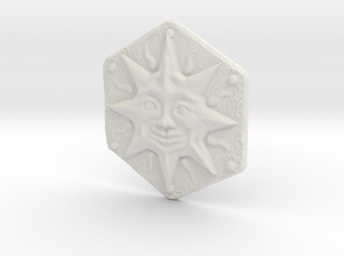 Resident Evil Remake Sun Crest 3d printed