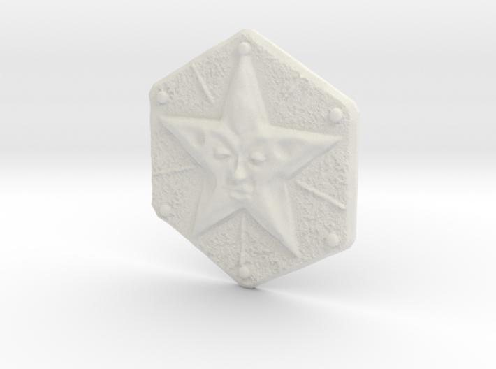 Resident Evil Remake Star Crest 3d printed