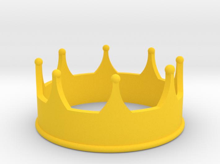 Crown 3d printed
