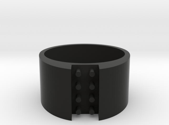 high 8-bit ring (US7/⌀17.3mm) 3d printed
