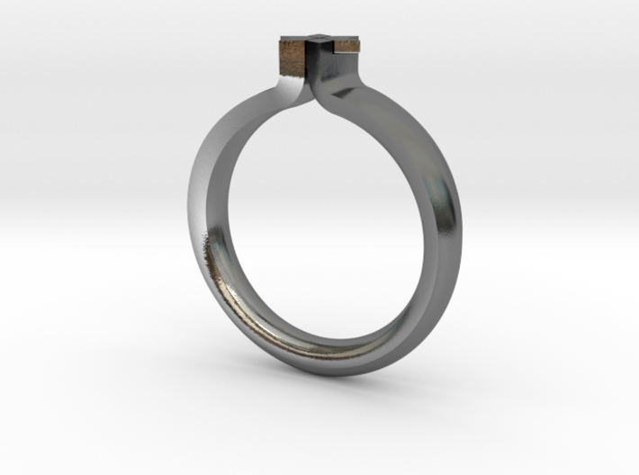 MAG.DA RING - SIZE 8 3d printed