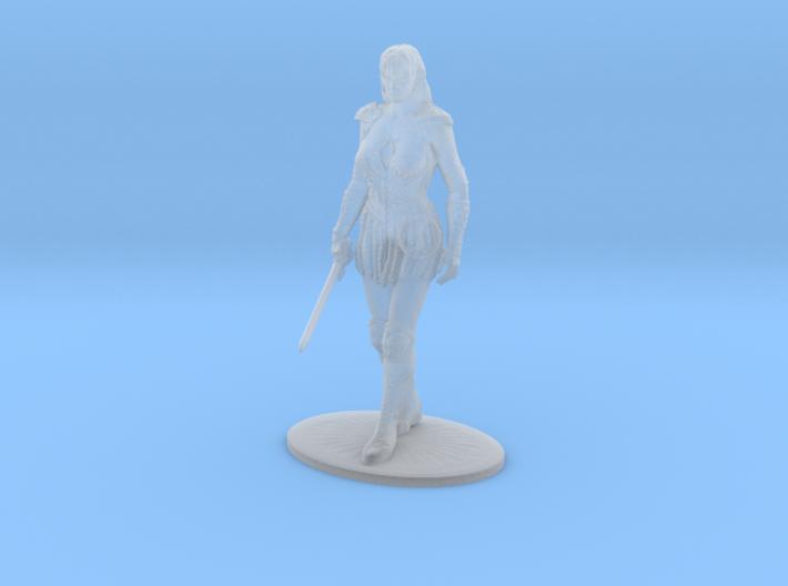 Xena Miniature 3d printed