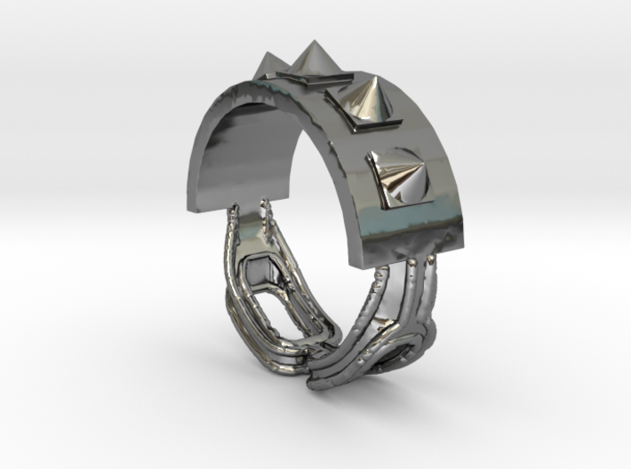 Choker Ring - Sz. 10 3d printed