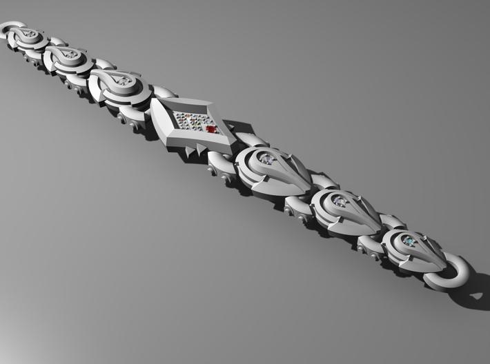 Serpent (Bracelet) - Head 3d printed