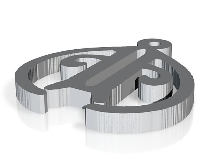 albannach pendent 3d printed