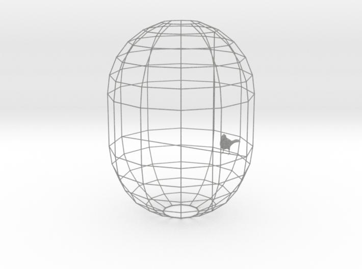 Canary Lamp Shade 3d printed