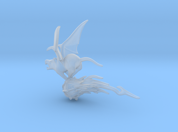 SMALL Flying rat 1 3d printed