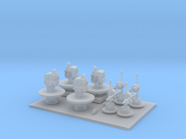 Mk 19 Range Finder - 1/192 Scale 3d printed