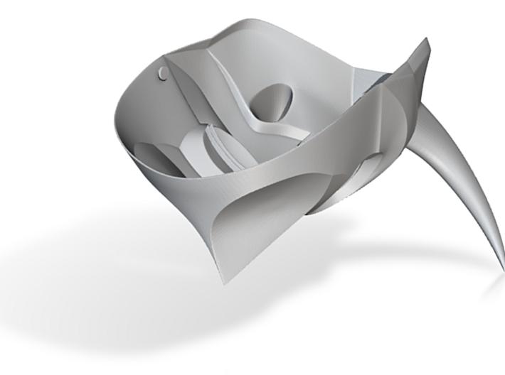 Konahrik Dragon Priest Mask (Smooth) 3d printed