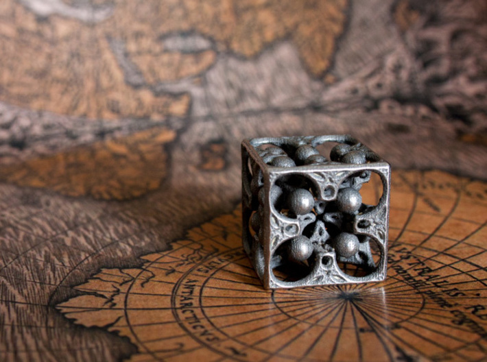 GOD's DICE 3d printed Four