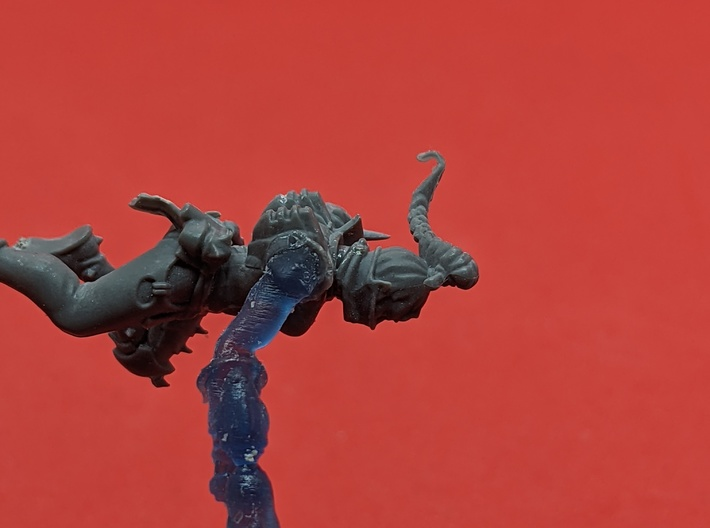 Harlequin Space Elf - Embrace With LH Arm x10 3d printed