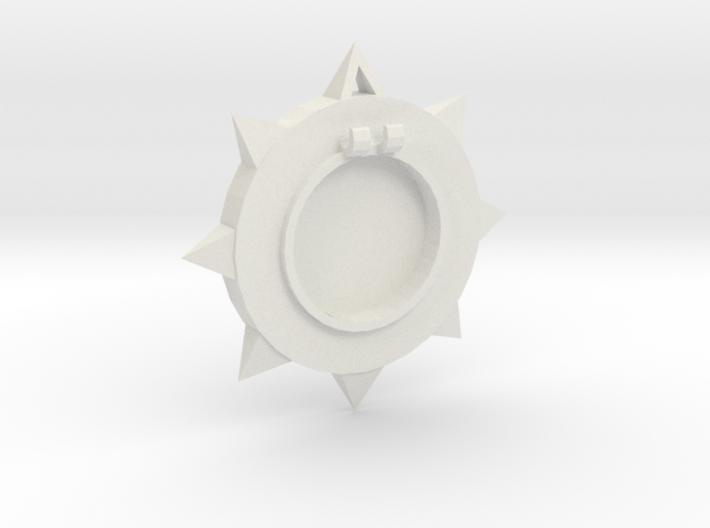 Sun Locket 3d printed