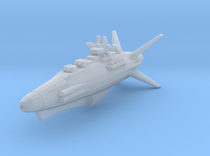 Earth Defence Fleet Destroyer Goshawk class 3d printed