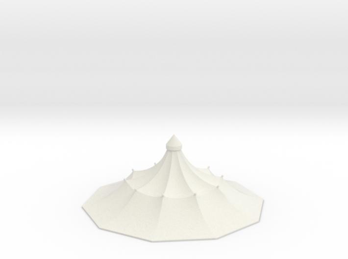 Austauschdach IHC-Carousel 1 für 1:87 (H0 scale) 3d printed