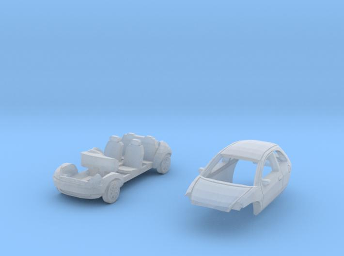 Ford Ka (British N 1:148) 3d printed