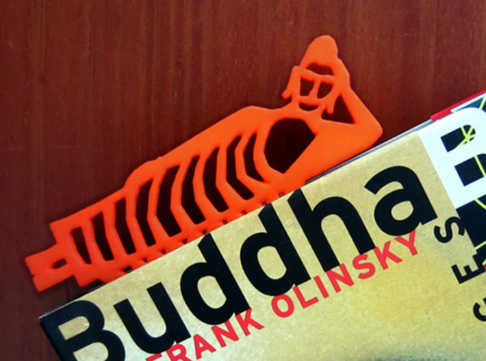 Buddha Bookmark 3d printed