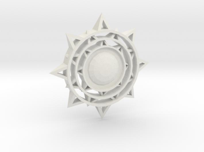 Sun Keychain 3d printed