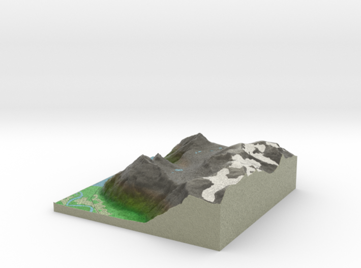Terrafab generated model Tue Aug 12 2014 12:00:38 3d printed