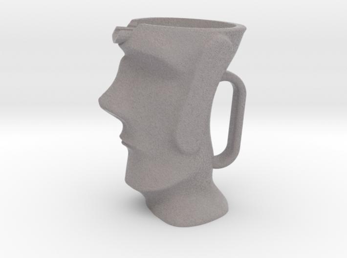 Moai Milk Jug 3d printed