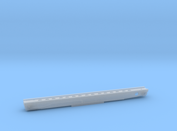 1/200 DKM Gneisenau - Hangar Catapult 3d printed