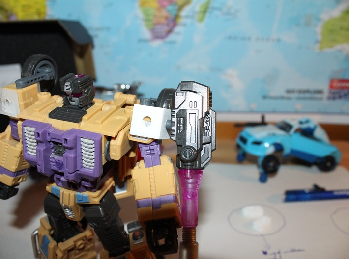 Warbotron WB01-C Canon Shoulder Clip 3d printed With canon