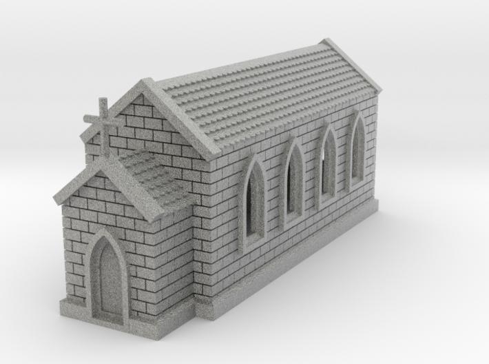 N Scale Small Church 1:160 3d printed