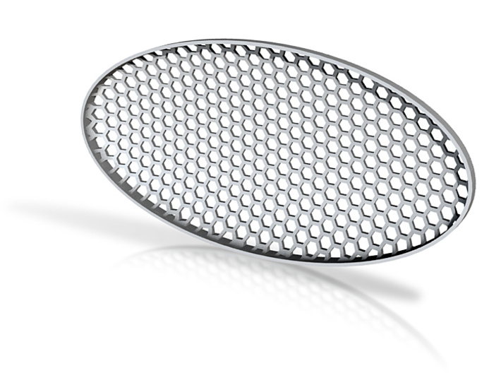 Oval Mesh 3d printed