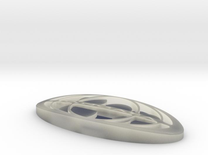 pangaea logo 3d printed