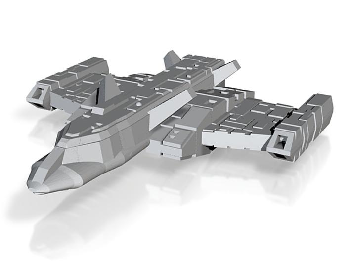 Romak Escort Frigate 3d printed