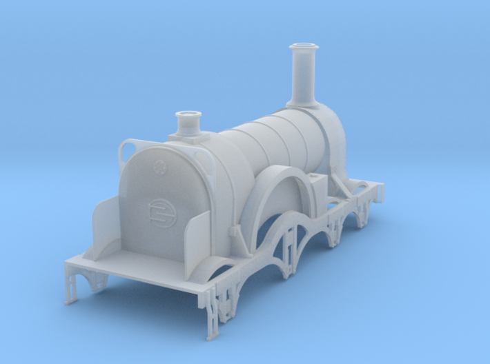 Lord of the Isles GWR Broad Gauge 4mm 3d printed