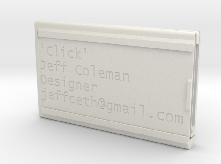 'Click' deluxe spring eject version 3d printed