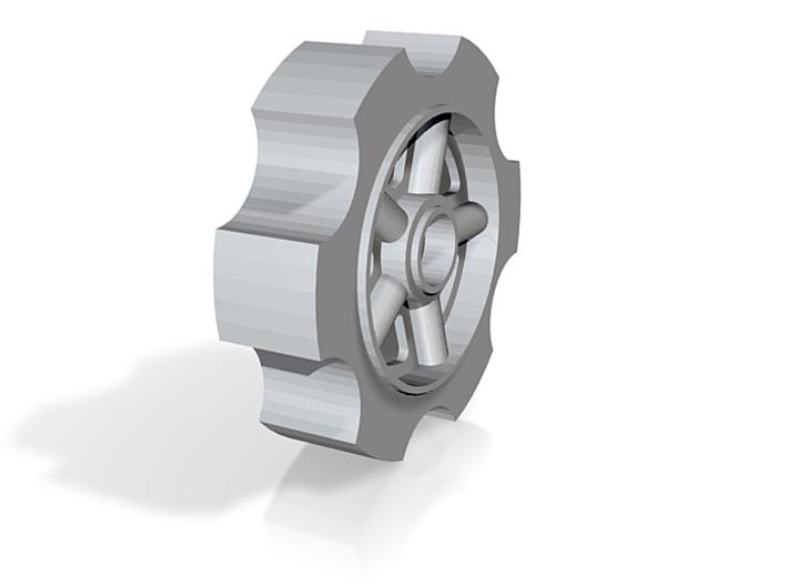 mk2 bogie wheel 3d printed