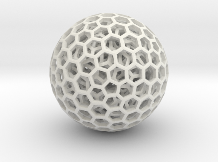 Goldberg polyhedrons 3d printed