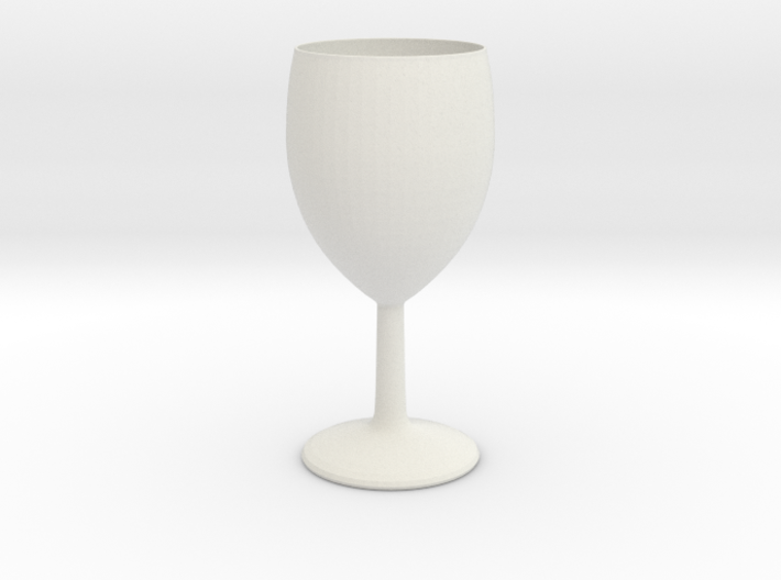 Wineglass 3d printed