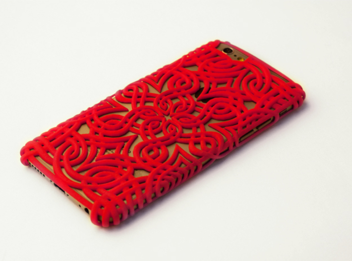 Lotus Case for the iPhone 6 /6S 3d printed