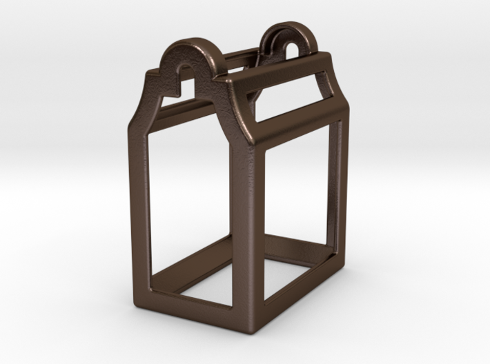 Open Huis Bottle Opener - Klokgevel 3d printed