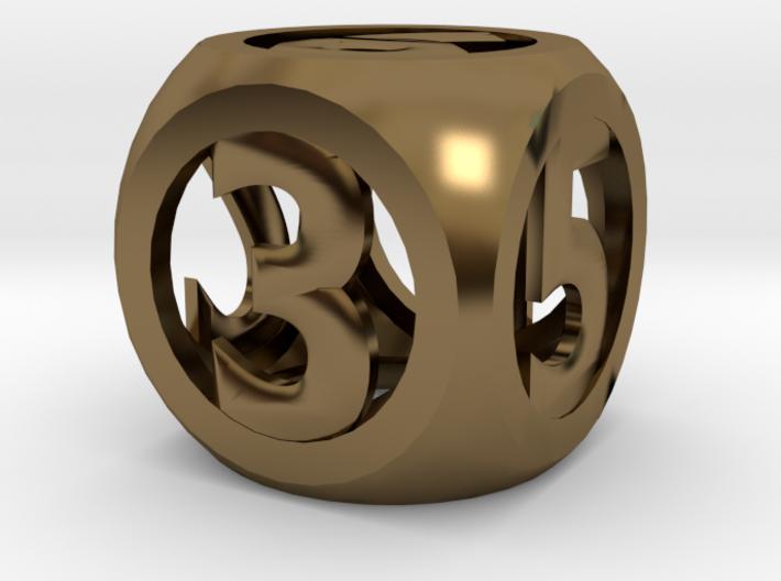 hollow round die 3d printed
