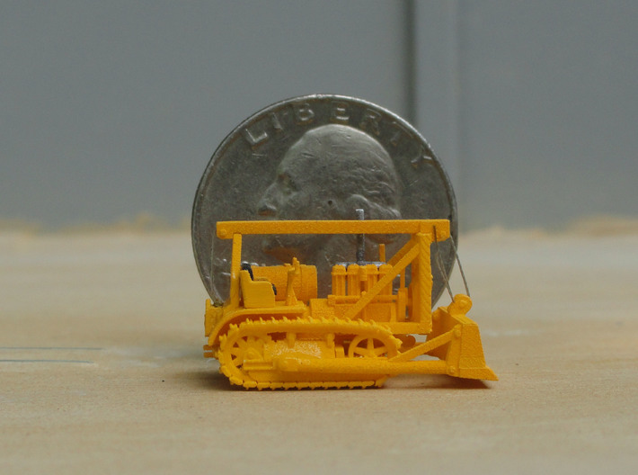 1931 Caterpillar Sixty track tractor with a LeTour 3d printed