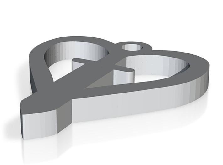 Herz und Schwert 3d printed