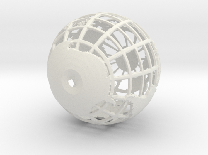 Small Globe 3d printed