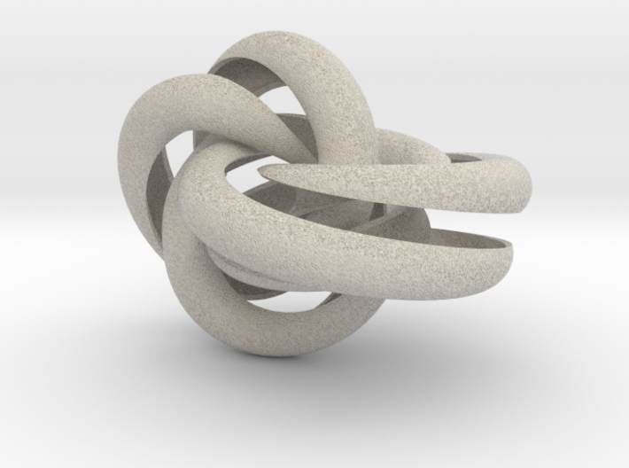 Hollow Knotted Gear 3d printed