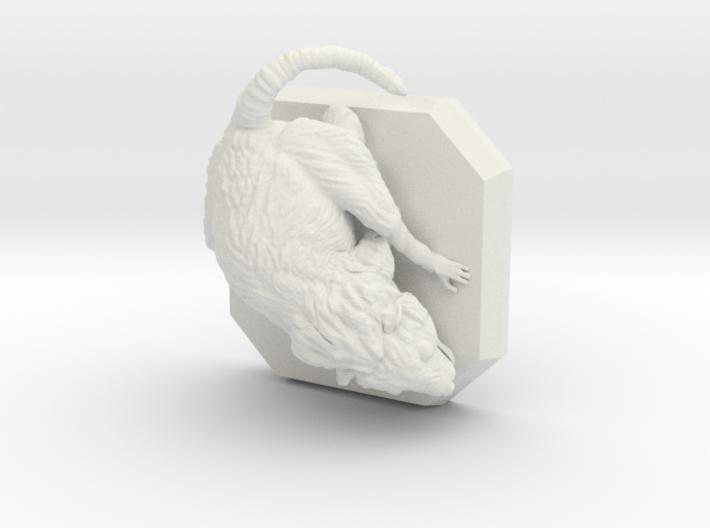 Giant rat miniature 3d printed