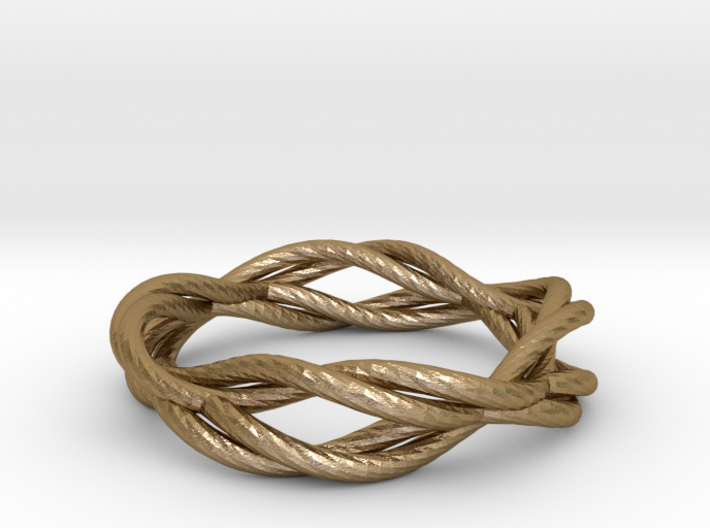 Ring - Wirl 3d printed