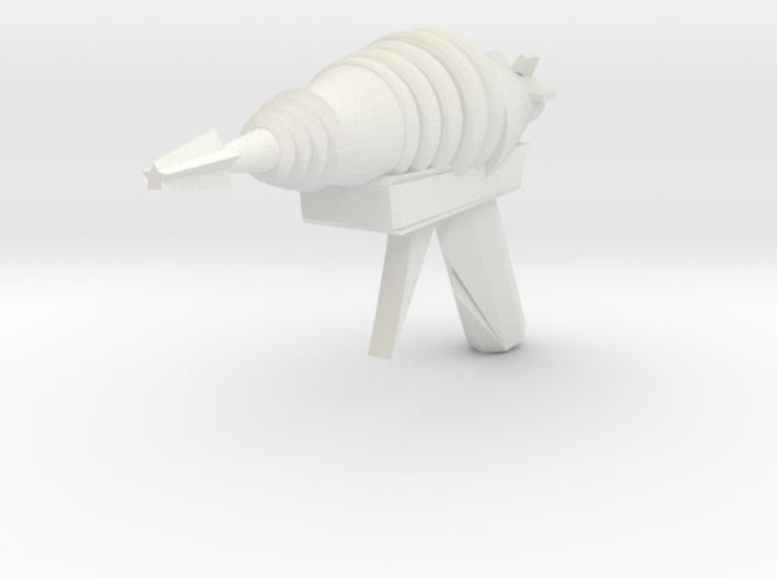 Raygun Four 3d printed