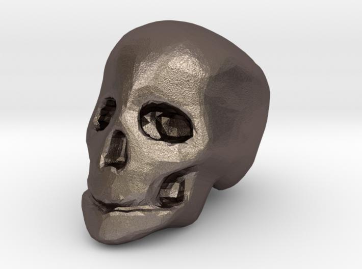 miniature skull 3d printed