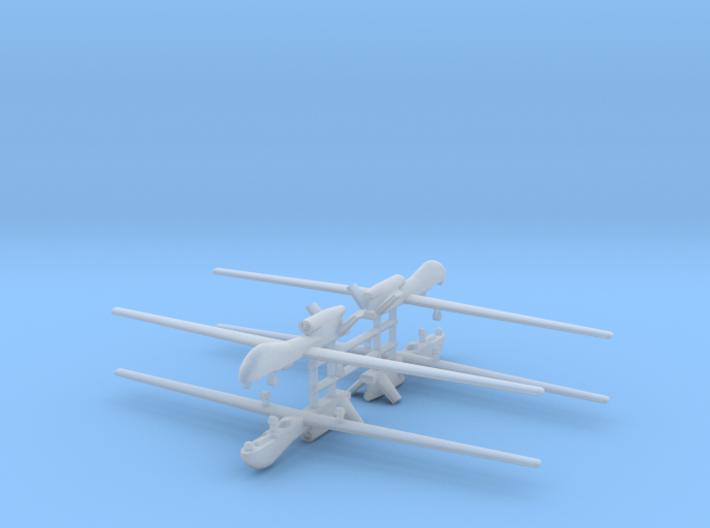 1/700 RQ-4 Global Hawk (x4) 3d printed