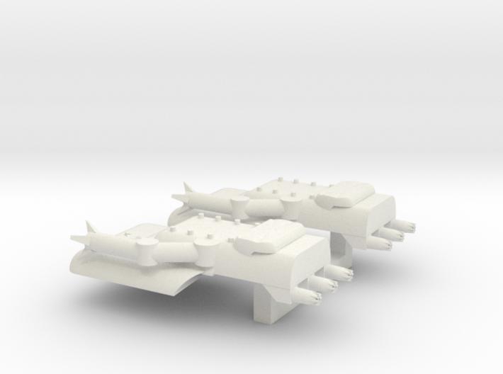 4 Boarding Spaceship x2 3d printed