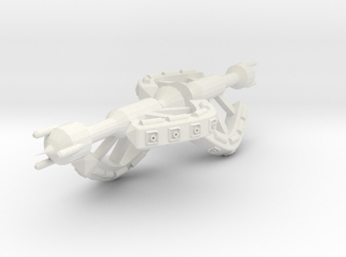 5 Small Spaceship x2 3d printed