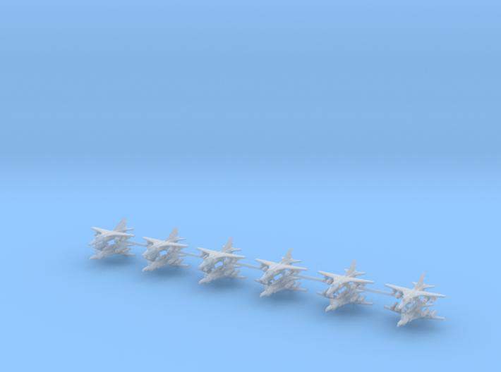 1/700 MIG-27 Flogger D/J (x12) 3d printed